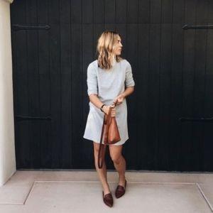 Zara peter pan collar shift dress